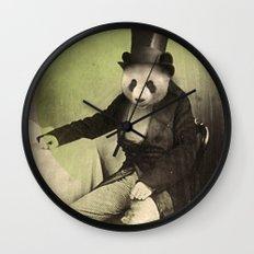 Proper Panda Wall Clock