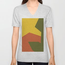 Minimalism Abstract Colors #6 Unisex V-Neck