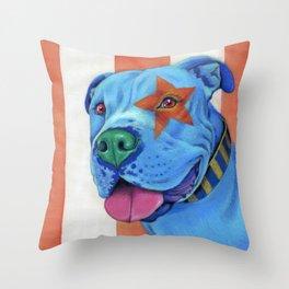 Star Spangled Mowgli Throw Pillow