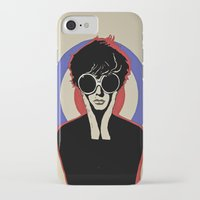mod iPhone & iPod Cases featuring Mod by LunaLunaRiotGirl