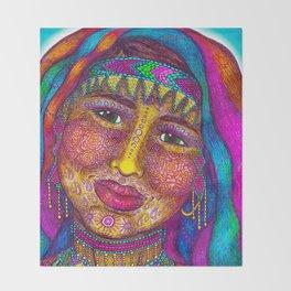 Wisdom Keeper Color #13 (Empathy) Throw Blanket