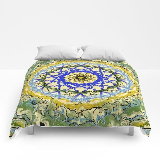 Mandala No.1 Comforters