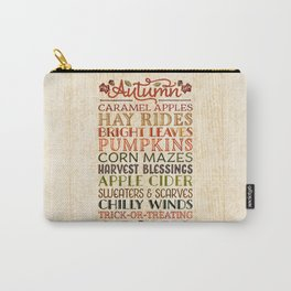 Autumn Fun Carry-All Pouch