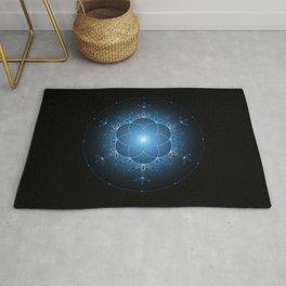 Ice space | Sacred geometry Rug