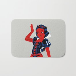 Snow White Bath Mat