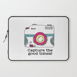 Capture the good times  camera Laptop Sleeve