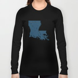Louisiana Parks - v2 Long Sleeve T-shirt