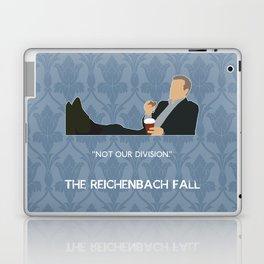The Reichenbach Fall - Greg Lestrade Laptop & iPad Skin