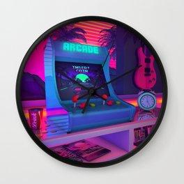 Arcade Dreams Wall Clock
