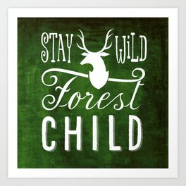 forest child Art Print