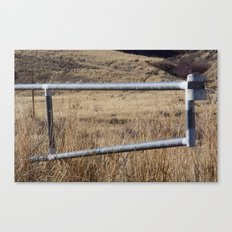 Gate Canvas Print