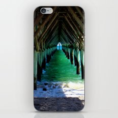 Peaceful Under the Pier iPhone & iPod Skin