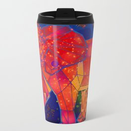 There is a life in Ivory Metal Travel Mug