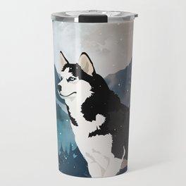 Husky Travel Mug