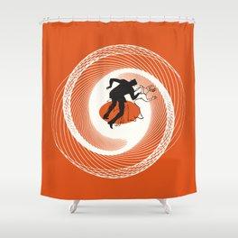 Vertigo a GoGo Shower Curtain