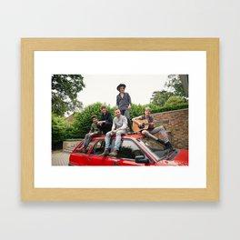 1D FOUR photoshoot Framed Art Print