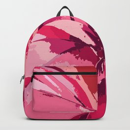 Blushing Bromeliad Backpack