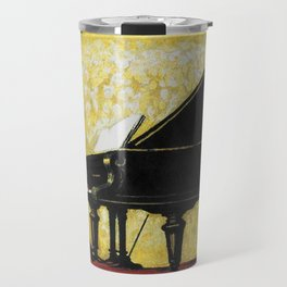 Vintage Piano Recital Illustration (1920) Travel Mug