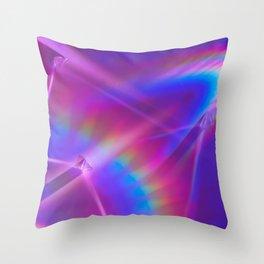 Babe Rainbow Throw Pillow