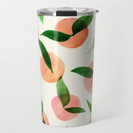 Summer Fruit Pattern Travel Mug