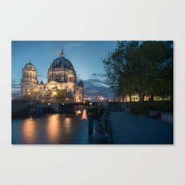 Berliner Dom Canvas Print