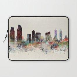 san diego california skyline Laptop Sleeve