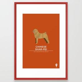 Chinese Shar-Pei Framed Art Print