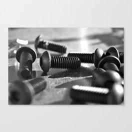 Small Parts Canvas Print