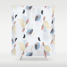 downy flake Shower Curtain