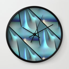 3D - abstraction -82- Wall Clock