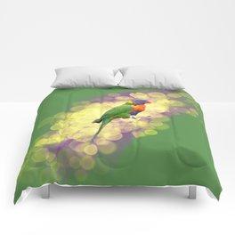 Rainbow Lorikeet Comforters