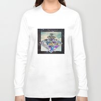 diamonds Long Sleeve T-shirts featuring Diamonds by Sil-la Lopez