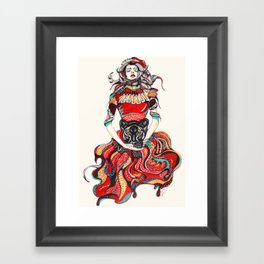 heR-evolution Framed Art Print