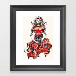heR-evolution Framed Art Print