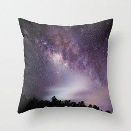 The Milkyway 2 (K) Throw Pillow