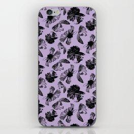 Beta Fish Lavender iPhone Skin