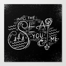 Into-The-Sea Canvas Print