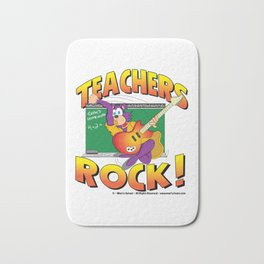 Teachers Rock Merchandise Bath Mat