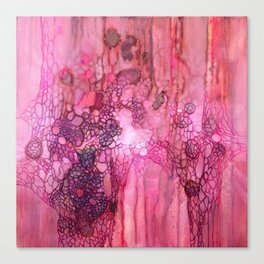 Crystal Fungus Canvas Print