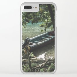Sinking Swale Clear iPhone Case