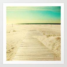 Sun and Sand Art Print