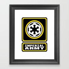 Imperial Army Framed Art Print