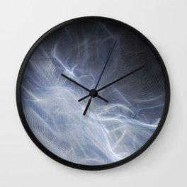 Ghost Stream Wall Clock