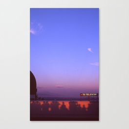 High Attendance at the Griffith Observatory Canvas Print