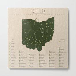 Ohio Parks Metal Print