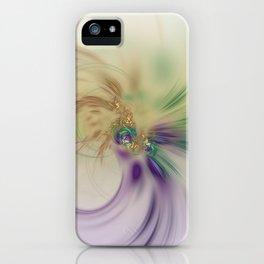 Fall Festive Fractal iPhone Case