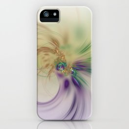 Fall Festive Fractal iPhone Case