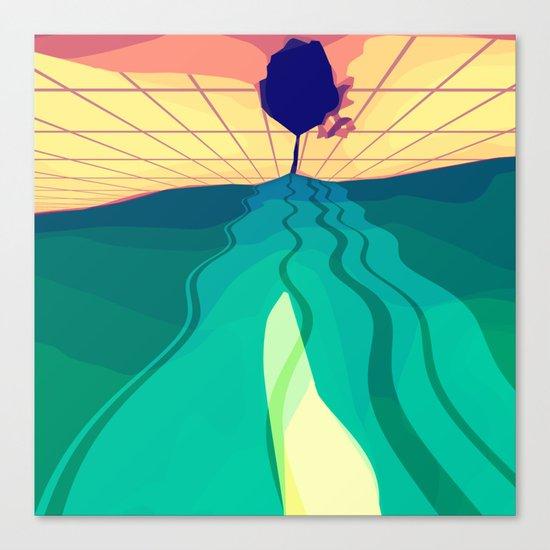 Over the Horizon Canvas Print