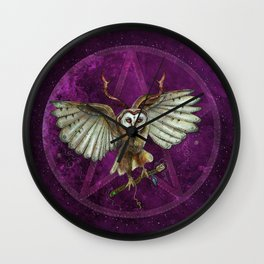 Magic Traveler Wall Clock