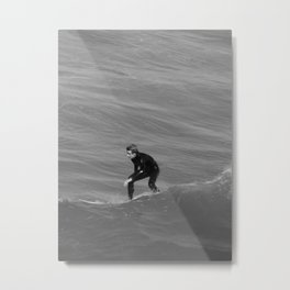 Riding the Wave Metal Print